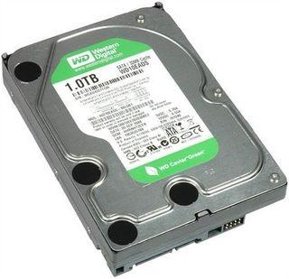 """Disco duro interno 3,5"""" WD (1TB, SATA-300)"""