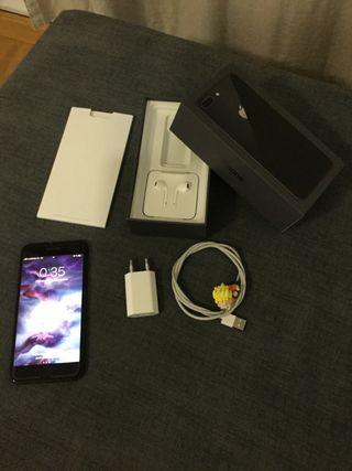Iphone 8 Plus de 64 GB color negro