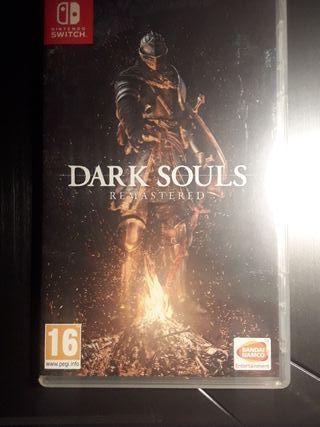 Daek souls remastered para nintendo switch