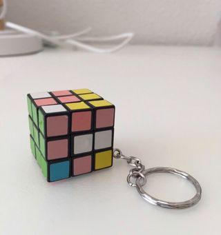 Cubo de Rubik llavero