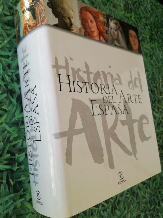 LIBRO HISTORIA DEL ARTE DE ESPASA CON CD-ROM