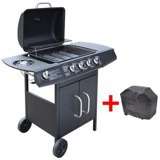 vidaXL Barbacoa grill de gas 273789