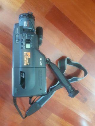 Cámara de video VHS-C SHARP