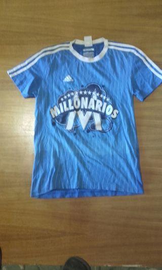 camiseta millonarios