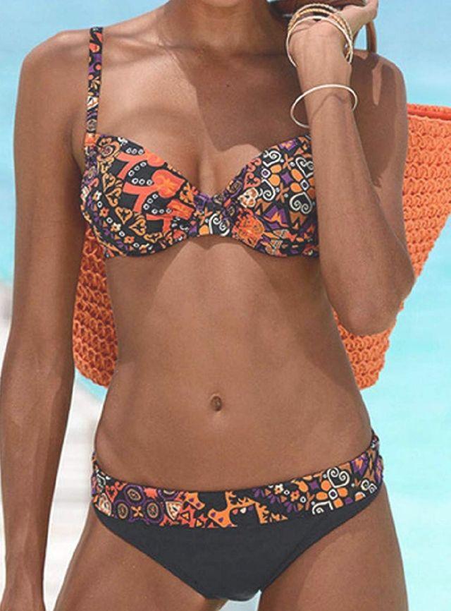 Bikini Braguita cintura alta+sujetador Talla L/XL