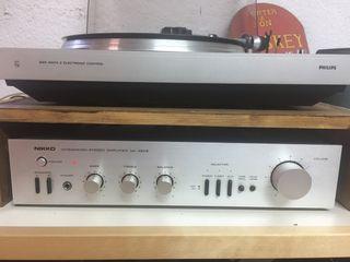 Amplificador nikko vintage