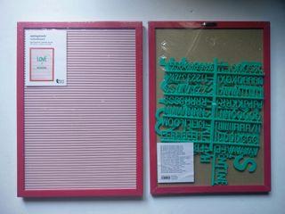Tablero Cartel letras Nuevo