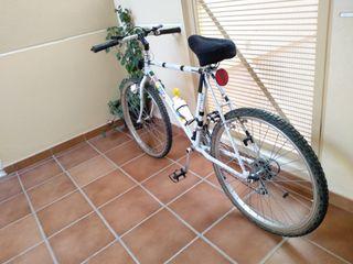 Bicicleta Orbea con accesorios