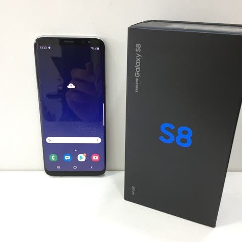 Samsung Galaxy S8 - 64GB NEGRO (reacondicionado)