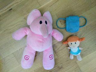 Peluche Eli y su muñeca