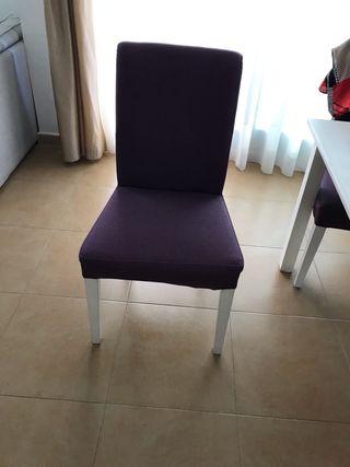Sillas - 4 c /una 20 €