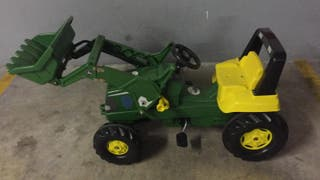 tractor pedales jhon deere ORIGINAL ROLLY TOYS