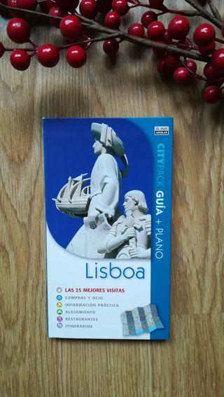 Dos guías de Lisboa.