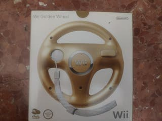 Volante Wii para Mario Kart edición club Nintendo