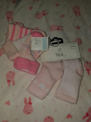 Calcetines de bebé sin estrenar