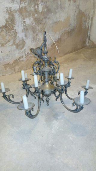 lampara araña antigua