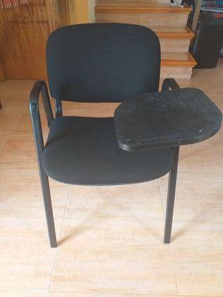 Sillas de academia con mesa abatible