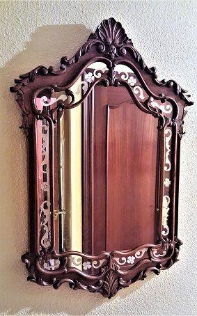 Espejo de 1920. Art Nouveau/Modernista. Restaurado