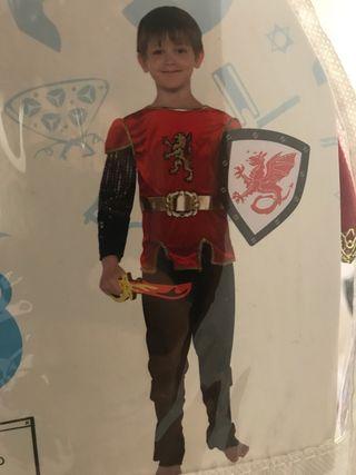 Disfraz Caballero niño 5-6 años