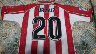 Se vende Camiseta Oficial Athletic Urzaiz