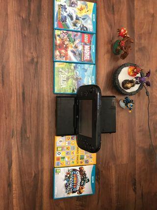 Wii u, accesorios y juegos