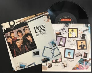Disco vinilo de INXS