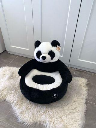 Oso osito panda sofa juguete niña niño sillon puff