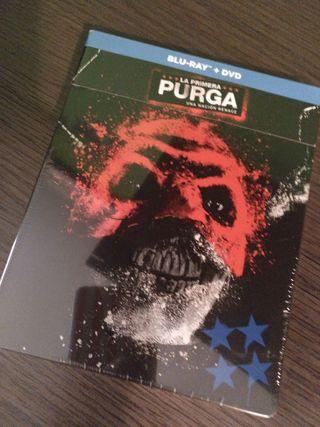 La primera purga steelbook Blu-ray