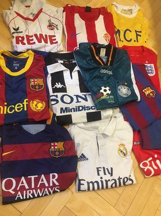 Camisetas de futbol retro vintage