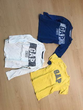 Camisetas GAP 4 años