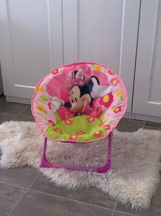 Sillón niña/niño minnie mouse rosa