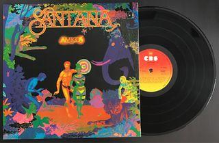 Disco vinilo de Santana