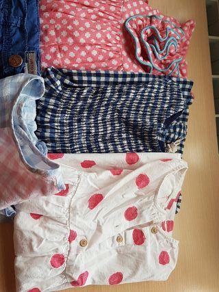 Lote ropa niña 3 - 4 años