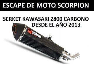 ESCAPE MOTO SCORPION KAWASAKI Z800