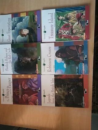 Pack 5 libros de lectura en inglés