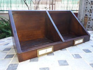 Estante madera Banak