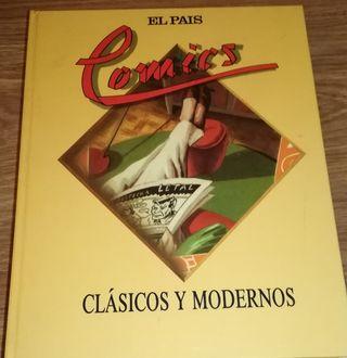 COMICS CLÁSICOS Y MODERNOS TOMO COMPLETO