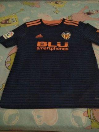 camiseta Valencia niño