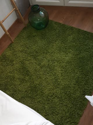 Alfombra Ikea Verde 135x195