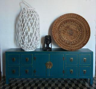 Mueble de madera estilo Oriental