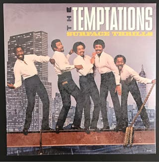 Disco vinilo The Temptations precintado