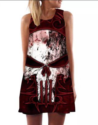 Vestido calavera the Punisher