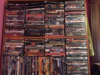 Películas dvd lote completo,1500 dvd aproximadamen