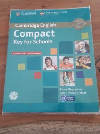Libro inglés A2 Cambridge english