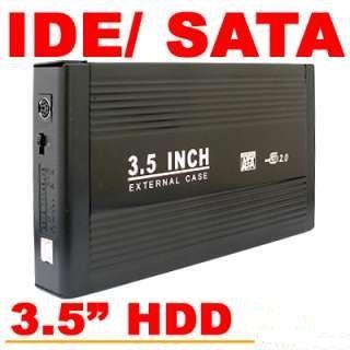 "Cajas disco duro 3.5"" ide / sata USB 2.0"