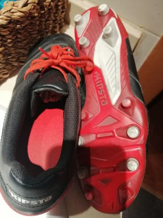 Botas tacos rugby/fútbol