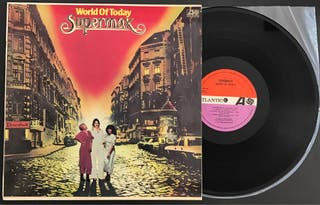 Disco vinilo de Supermax