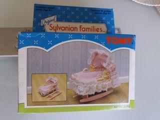 cuna llitet sylvanian families tomy