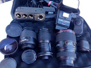 objetivos, fotografía