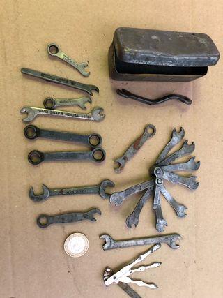 Antigüedades mini herramientas